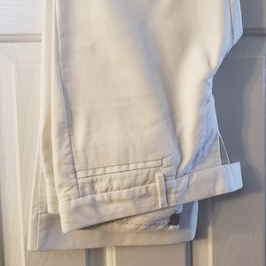 Gap White Modern Boot pants, sz 6R